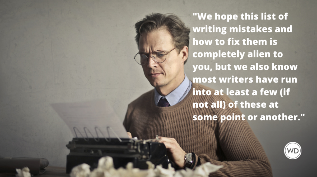 Common Writing Mistakes Writers Make (and How to Fix Them)