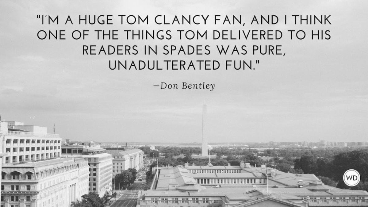 Don Bentley: On Being Picked to Write a Book in a Famous Series