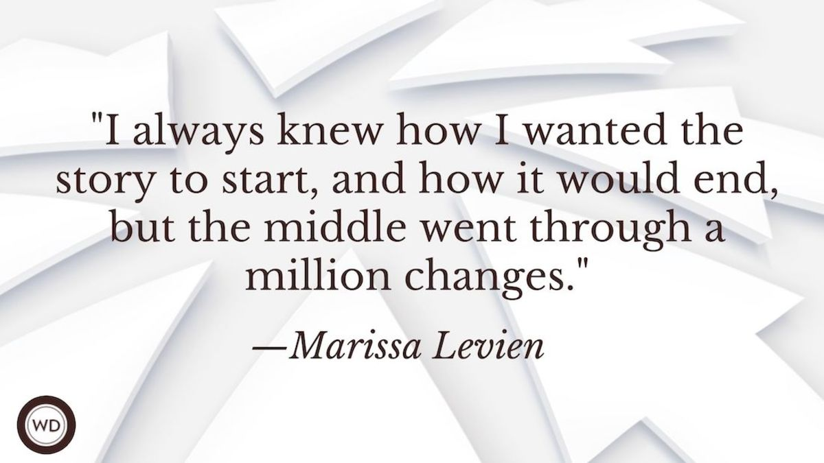 Marissa Levien: On Pinning Down Your Novel's Middle