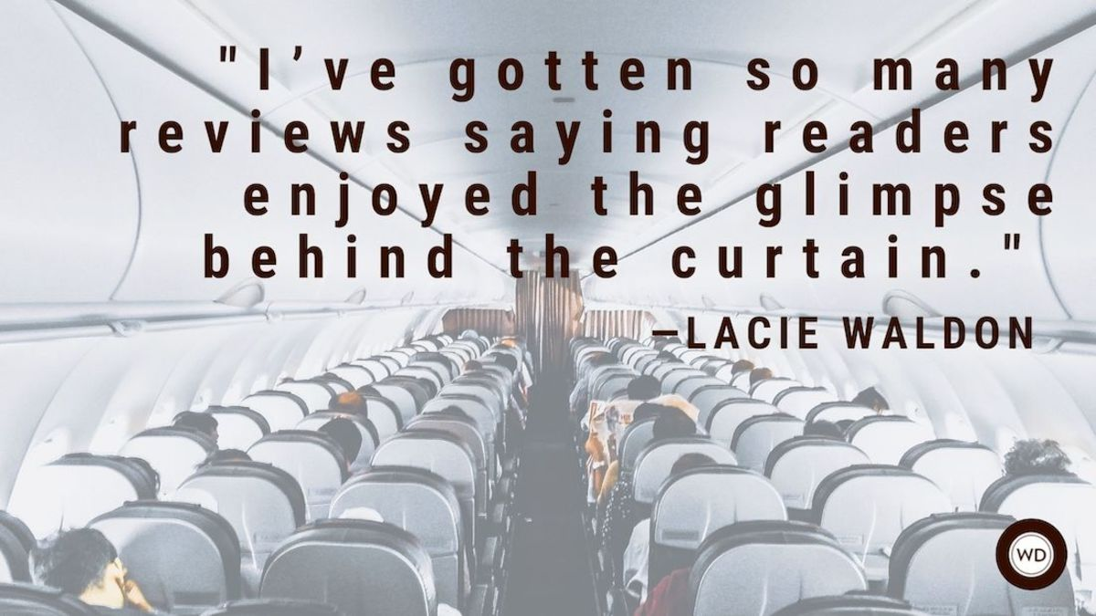 Lacie Waldon: On Writing What You Know ... But Keeping it Interesting