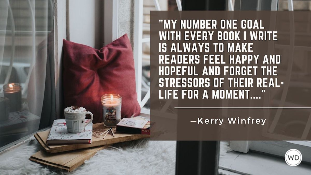Kerry Winfrey: On Writing a Romance that's Cozy and Comforting