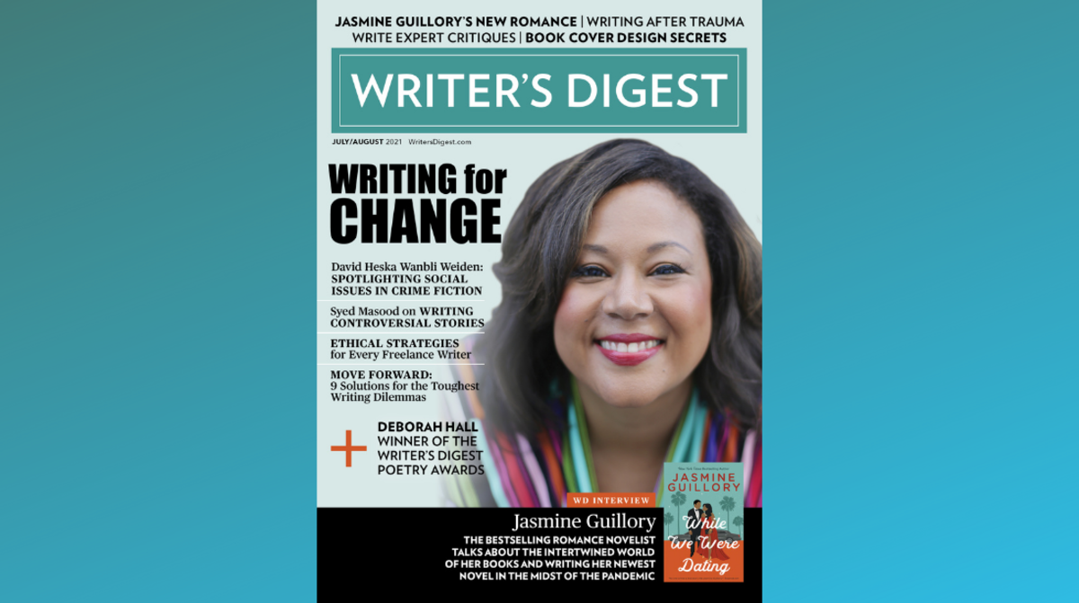 Writer's Digest July/August 2021 Cover