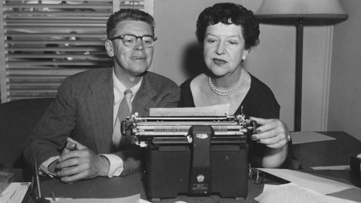 Frances Goodrich Hackett (and Her Husband, Albert) Wrote Themselves a Wonderful Life