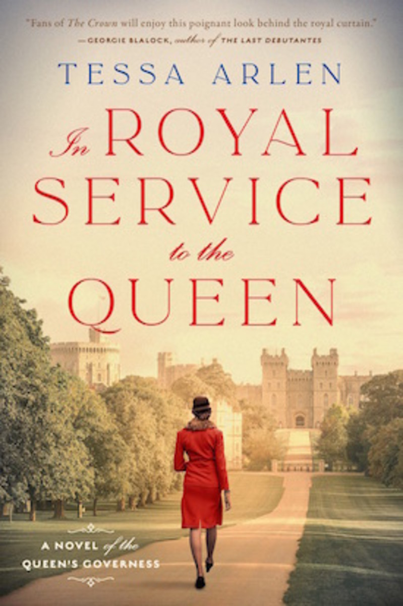 In Royal Service to the Queen by Tessa Arlen