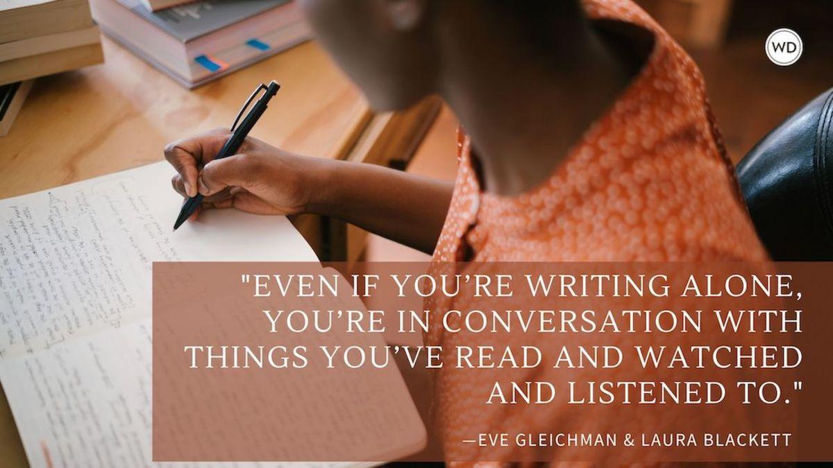 Eve Gleichman & Laura Blackett: Writing as Collaboration