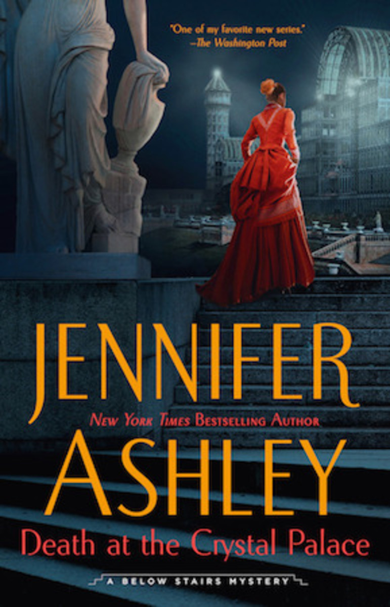 Death at the Crystal Palace: A Below Stairs Mystery by Jennifer Ashley