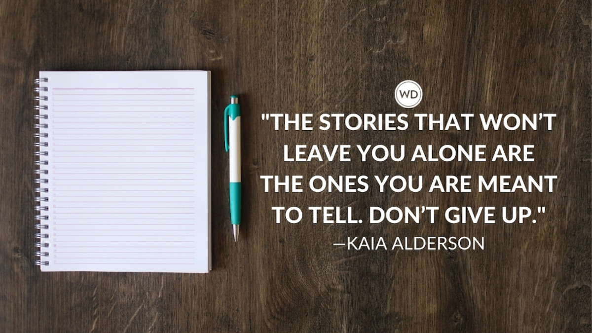 Kaia Alderson: On Internal Roadblocks and Not Giving Up