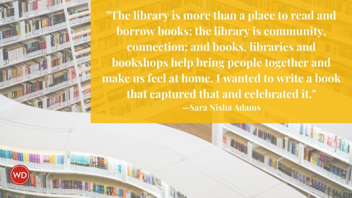 Sara Nisha Adams: On the Celebration of Reading in Literary Fiction