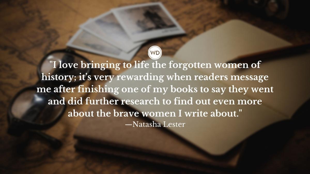 Natasha Lester: On Writing History's Forgotten Women