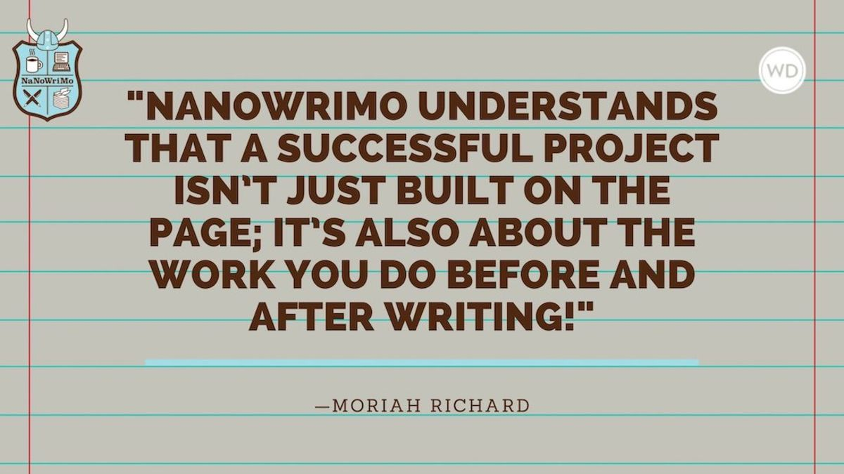 What Is NaNoWriMo?
