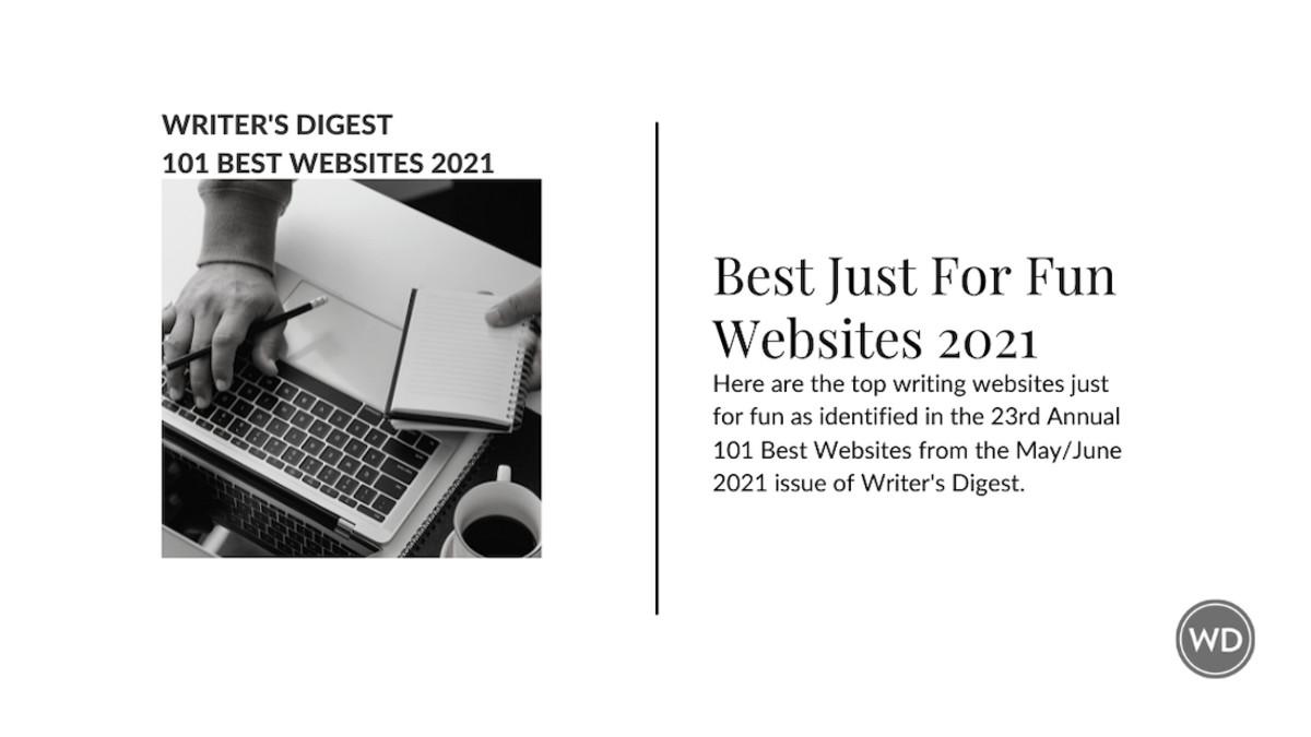 Writer's Digest Best Just For Fun Websites 2021