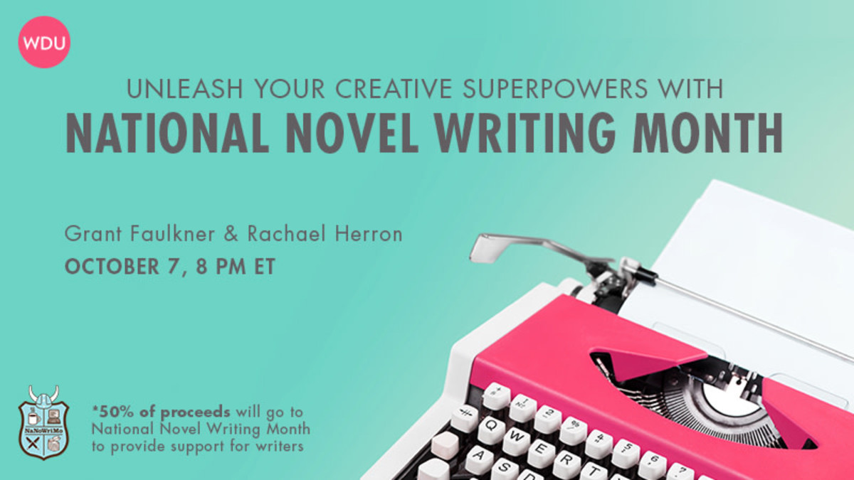 Unleash Your Creative Superpowers with National Novel Writing Month