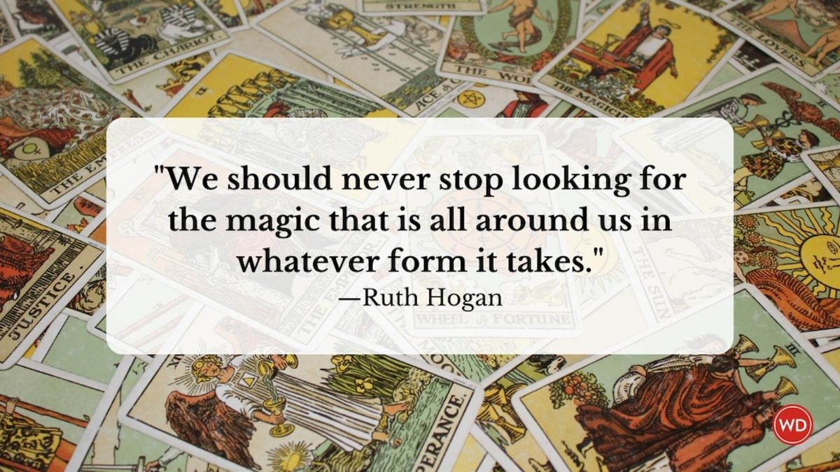 Ruth Hogan: On Infusing Personal Interests in Fiction