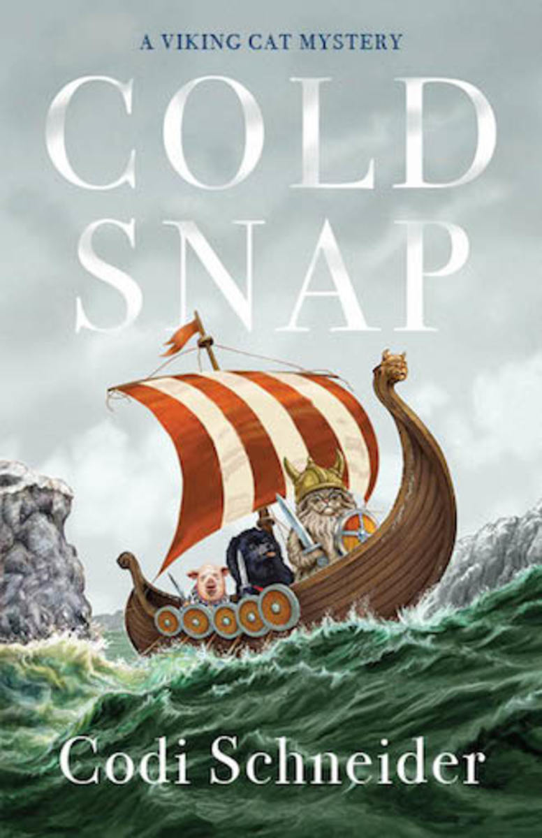 cold_snap_a_viking_cat_mystery_novel_by_codi_schneider_book_cover_image
